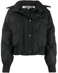 McQ Hooded Padded Jacket - Black