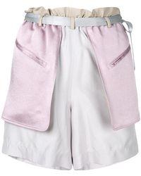 Valentino - Schappe Shorts - Lyst