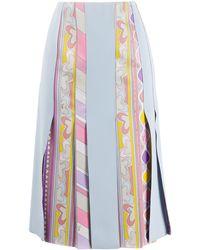 Emilio Pucci - グラフィック パネルスカート - Lyst