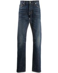 Tom Ford Straight Jeans - Blauw
