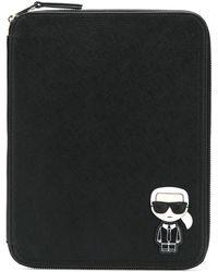 Karl Lagerfeld - Ikonik Ipad オーガナイザー - Lyst