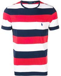 Polo Ralph Lauren - ストライプ ロゴtシャツ - Lyst
