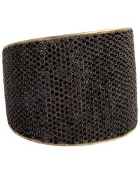 Tom Binns | Bejewelled Statement Cuff | Lyst