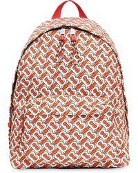 Burberry Men's Jett Tb Monogram Backpack - Multicolour