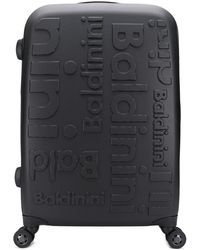 Baldinini Logo luggage - Black