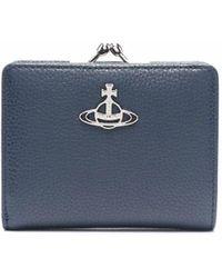 Vivienne Westwood Orb 財布 - ブルー