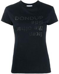 Dondup グラフィック Tシャツ - ブラック