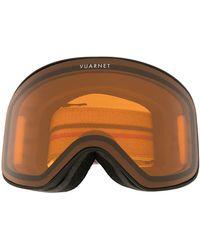 Vuarnet Skibrille mit Logo - Schwarz