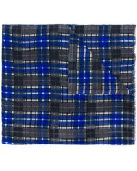 Altea - Checked Scarf - Lyst
