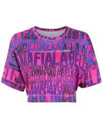 À La Garçonne X Labellamafia ロゴ Tシャツ - ピンク