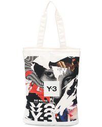 Y-3 - グラフィック ハンドバッグ - Lyst