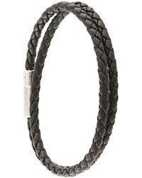 Tateossian 'Pop Rigato' Armband - Schwarz