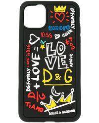 Dolce & Gabbana ロゴ Iphone 11 Pro Max ケース - ブラック