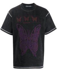 United Standard バタフライ Tシャツ - ブラック