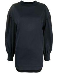 Coohem Блузка С Трикотажными Вставками - Синий