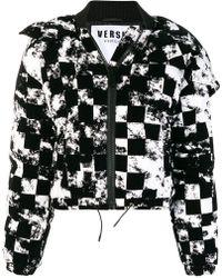 Versus - Cropped Heck Jacket - Lyst