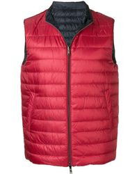 Herno Reversible Puffer Gilet - Multicolour
