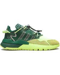 adidas Кроссовки Nite Jogger - Зеленый