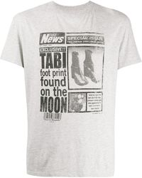 Maison Margiela T-shirt Tabi - Grigio