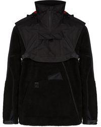 Nike Флисовая Куртка Из Коллаборации С Mmw - Черный