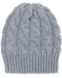 Antonia Zander - Cable Knit Beanie - Lyst