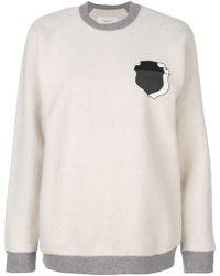 Julien David - Shield Print Sweatshirt - Lyst