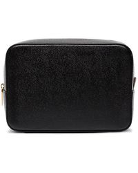 Thom Browne - Pebble Grain Leather Wash Bag - Lyst