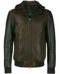 Etro Куртка Из Искусственной Кожи - Зеленый