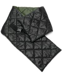 Osklen キルティング スカーフ - ブラック