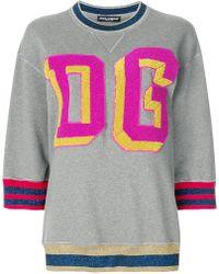Dolce & Gabbana - Dg Millennials Sweatshirt - Lyst