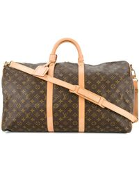 Louis Vuitton Pre-owned Keepall Monogram Tote - Brown