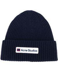 Acne Studios - ロゴ ビーニー - Lyst