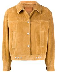 Prada Boxy Buttoned Jacket - Multicolour