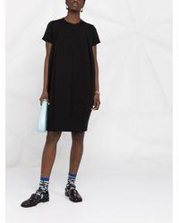 Comme des Garçons プリーツディテール ドレス - ブラック