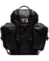Y-3 - Mochila con logo estilo utility - Lyst