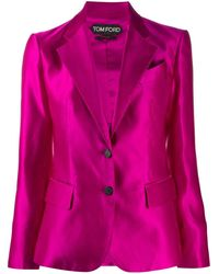 Tom Ford テーラードジャケット - ピンク