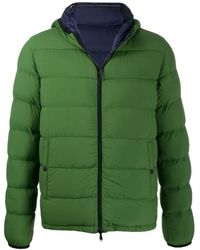 Herno Reversible Padded Jacket - Green