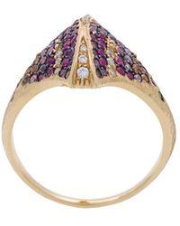 Venyx Kaleidoscopic Tiger Ray ring - Multicolore