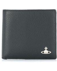 Vivienne Westwood Milano 二つ折り財布 - ブラック