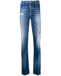 DSquared² Bootcut Jeans - Blauw