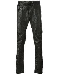 Army Of Me - Elongated Tapered Trousers - Lyst