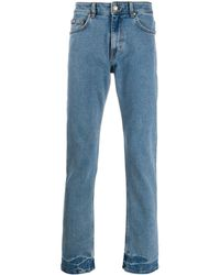 Versace Jeans - トロピカルポケット ストレートジーンズ - Lyst