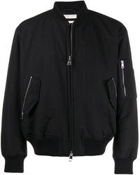 Bottega Veneta - Твиловая Куртка-бомбер - Lyst