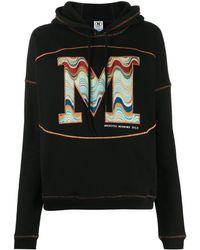 M Missoni Худи С Кулиской И Вышитым Логотипом - Черный