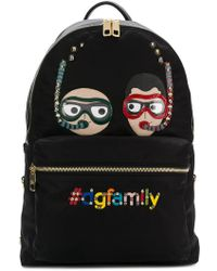 Dolce & Gabbana - Dg Family Embroidered Backpack - Lyst