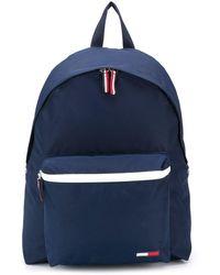Tommy Hilfiger Rucksack mit Reißverschlussfächern - Blau