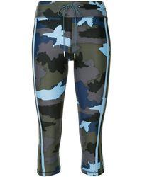 The Upside Camouflage leggings - Blue