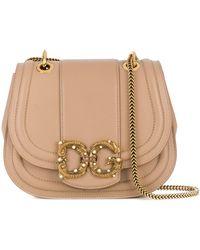 Dolce & Gabbana Logo Satchel Bag - Multicolour