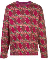 Stussy Cuzco プリント ロングtシャツ - マルチカラー