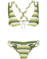 Amir Slama - Striped Bikini - Lyst